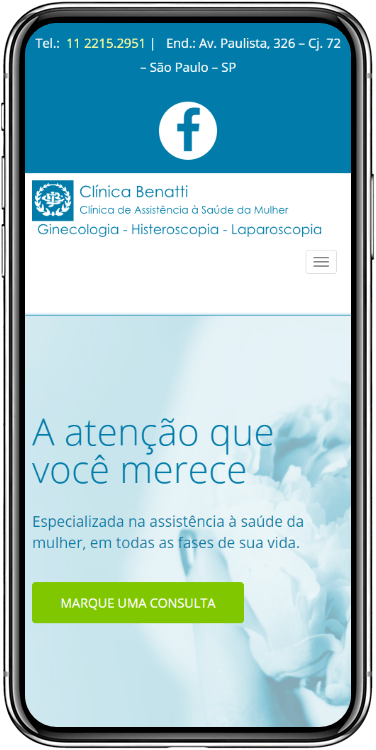 clinica benatti mobile - Clínica Benatti