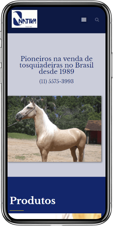 nativa mobile - Nativa Tosqui