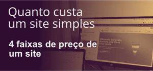Quanto custa um site simples